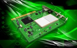 Video capture card Royalty Free Stock Photography