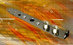 Video capture card Royalty Free Stock Images