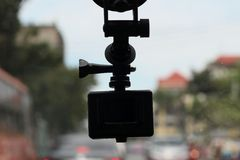 Video car recorder Stock Image