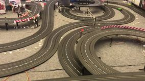 Car is running on highway model stock video footage