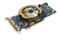 Video card Stock Photography