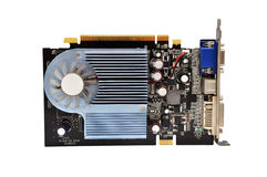 Video card Royalty Free Stock Image