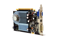 Video card Royalty Free Stock Photography