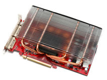 Video card Stock Photo
