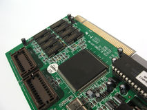 Video card. Computer video card Royalty Free Stock Image