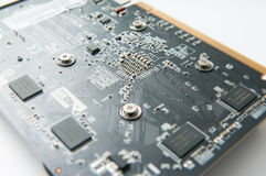 Video card back Stock Photo