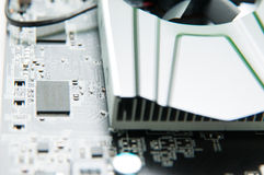 Video card details Royalty Free Stock Photo