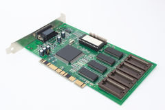 Video card for personal computer. Royalty Free Stock Photo