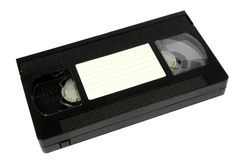 Video casette Royalty Free Stock Photo