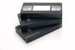 Video-cassetta del vassoio del nastro magnetico di VHS Fotografia Stock