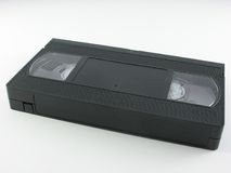 Video cassette. On a white background stock photos