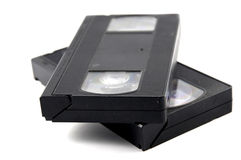 Video Cassette Stock Afbeelding