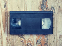 Video cassette close-up Stock Photography