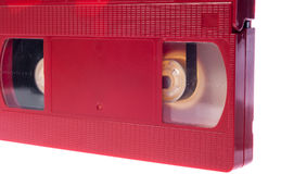 Video cassette isolated on white background Royalty Free Stock Photos
