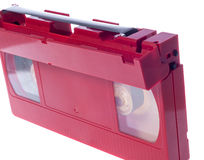 Video cassette isolated on white background Royalty Free Stock Image