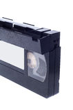 Video cassette isolated on white background Royalty Free Stock Photography