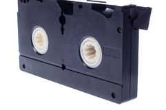 Video cassette isolated on white background Royalty Free Stock Photo