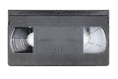 Video cassette isolated Stock Images