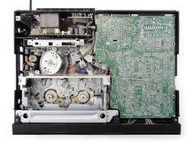 Video cassette recorder. Inside. Stock Photos