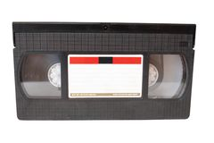 Video cassette tape Royalty Free Stock Photo