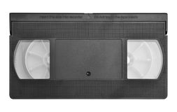 Video Cassette Tape Stock Image