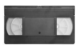 Video Cassette Tape. Video cassette on isolated white background stock image