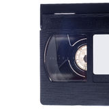 Video cassette  on white background Royalty Free Stock Photos