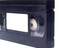 Video cassette  on white background Royalty Free Stock Image
