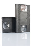 Video cassettes Royalty Free Stock Photo