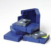 Video Tapes. Video Cassettes (HDV,DVCAM , MiniDV Royalty Free Stock Image