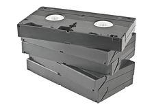 Video cassettes. Stock Photos