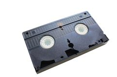 Video cassettes Royalty Free Stock Photography