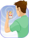 Video Chat Stock Photo