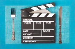 Video Clapper Stock Photo