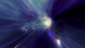 Colorful Wormhole stock video footage