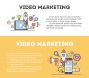Video concetto di vendita Fotografie Stock Libere da Diritti