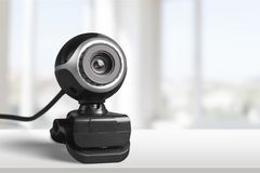 Video Conference Camera Royalty Free Stock Photo