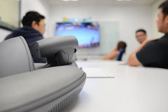 Video Conference Device royalty free stock photography