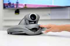 Video Conference Device stock photos