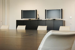 Video Conference Room Royalty Free Stock Photo