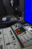 Video console. In a  studio Royalty Free Stock Image