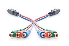 Video-cord Stock Photography