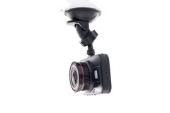 Video de la cámara del coche Fotografía de archivo