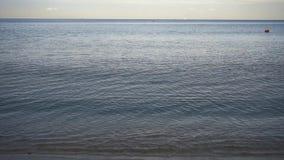Video de zomernacht van de Zwarte Zee stock footage