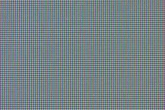 Video del calcolatore dell'affissione a cristalli liquidi Fotografie Stock Libere da Diritti