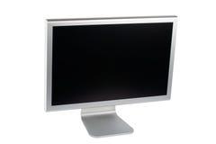 Video del calcolatore dell'affissione a cristalli liquidi dello schermo piatto Fotografia Stock