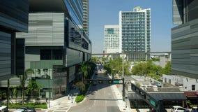 Video del centro di Brickell Miami video d archivio