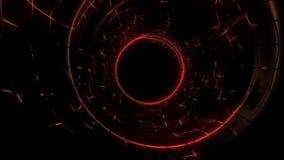 video del tunel astratto di potere archivi video