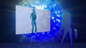 Video di ballare delle donne illustrazione vettoriale