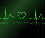 Video di cuore Immagini Stock